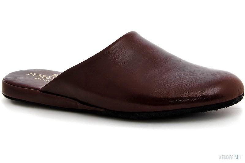 Кожаные тапочки